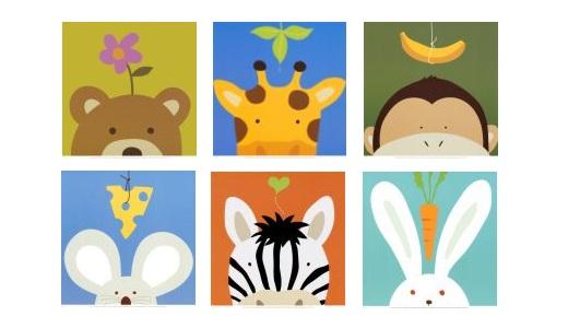 תמונות לחדר הילדים